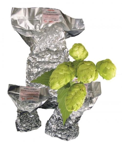 Hallertauer Perle Rohhopfen zum Bierbrauen, Alfasäurengehalt 5,9%