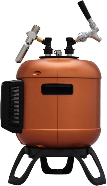 MiniBrew SmartKeg 2.0 — Zusatz-Bierfass Craft Bierbrau-Set (5L)