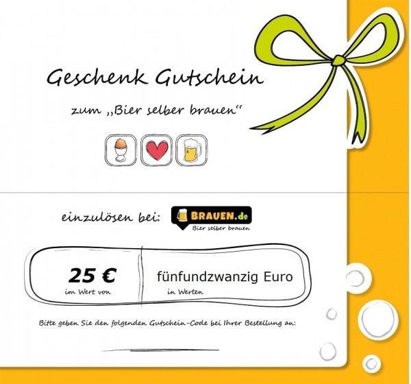 Brauen Gutschein für 25 Euro