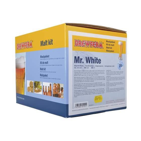 Fertige Malzmischung zum Brauen von 20 Liter Mr. White