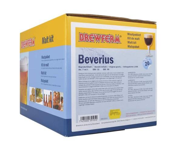 Fertige Malzmischung zum Brauen von 20 Liter Beverius Klosterbier