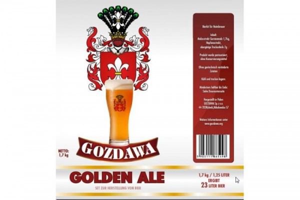 Bierkit GOZDAWA Golden Ale - 1,7 kg zum Bierbrauen
