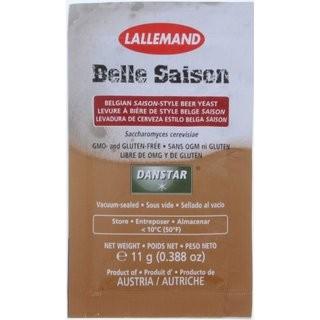 "LALLEMAND Bierhefe "" Belle Saison Yeast "" - 11 g obergärige Trockenhefe"