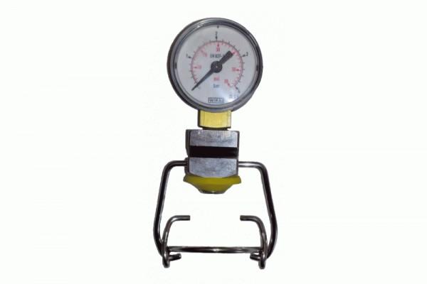 Flaschenmanometer für Bügelflaschen MattMill