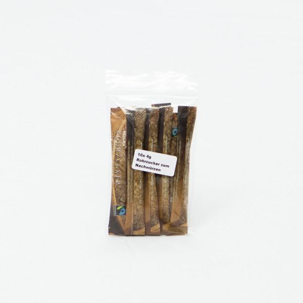 10 x 4g HELLMA Rohrzucker zum Nachwürzen