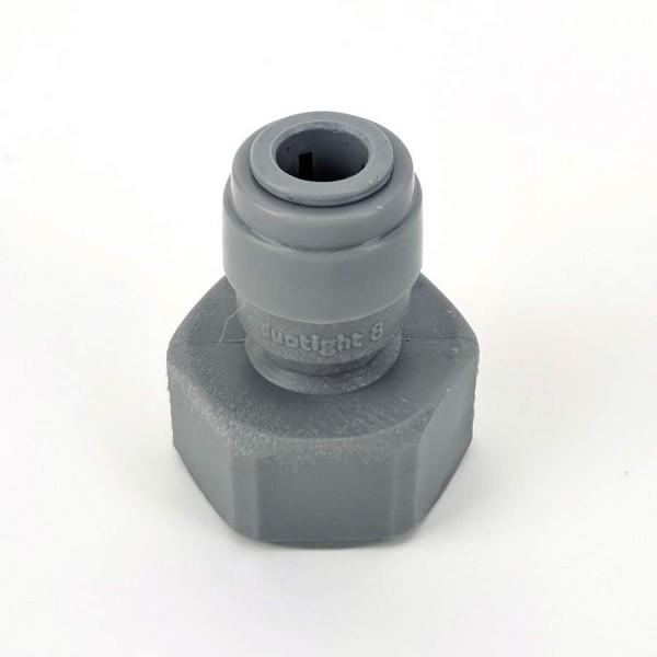 "Duotight Anschlussstück 8 mm (5/16"") Steckanschluss auf 5/8"" IG"