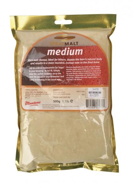 Malzextrakt Pulver Muntons medium (22-44 EBC) 500 g